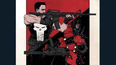 Deadpool vs Punisher - cover