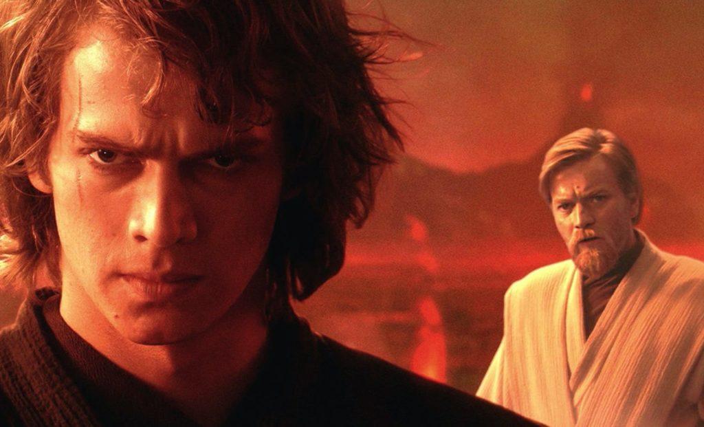 Obi-Wan contro Anakin