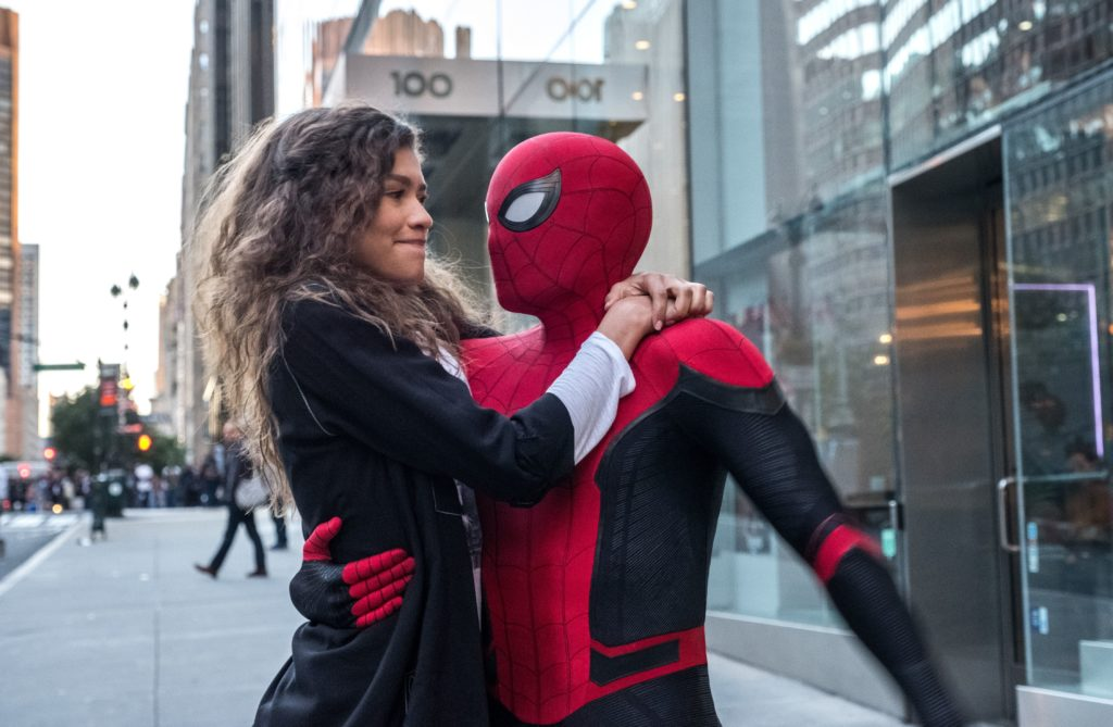 Spider-Man far From Home Peter MJ