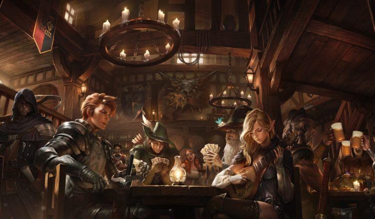 Risultato immagini per taverna inizio D&D