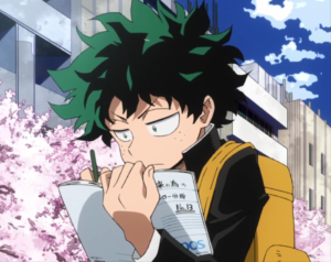 Midoriya notes