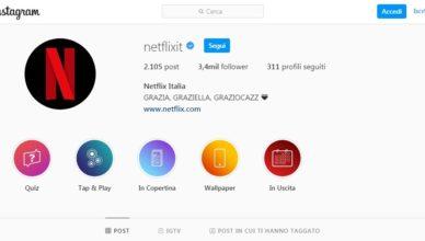 netflix instagram bio