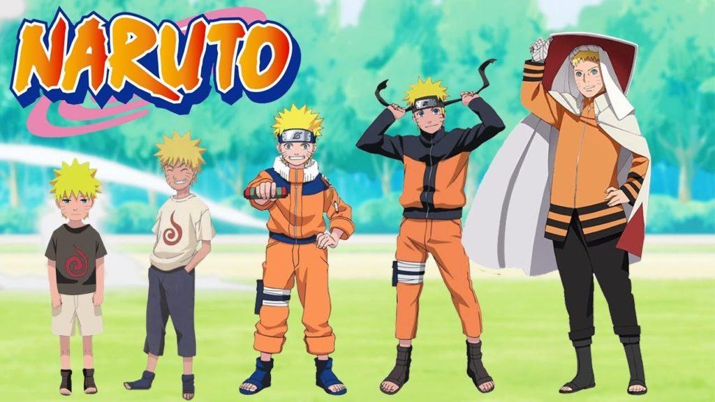 Naruto grow chart