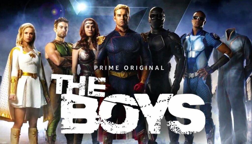 The Boys Super Critics Choice Awards