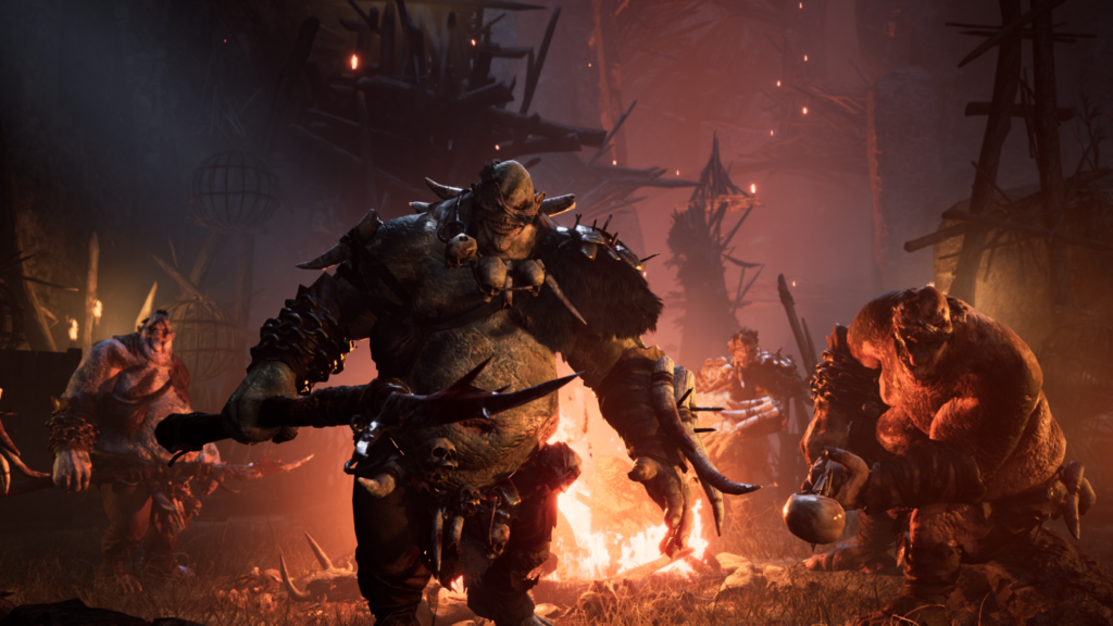 dark alliance - monsters