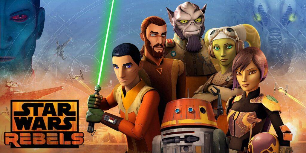 star wars rebels - ezra bridger and the Ghost Crew