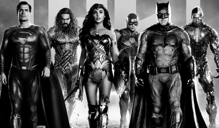 zack snyder justice league - cover